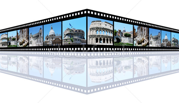 Рим компьютер генерируется 3d иллюстрации Диафильм фотографий Сток-фото © MIRO3D