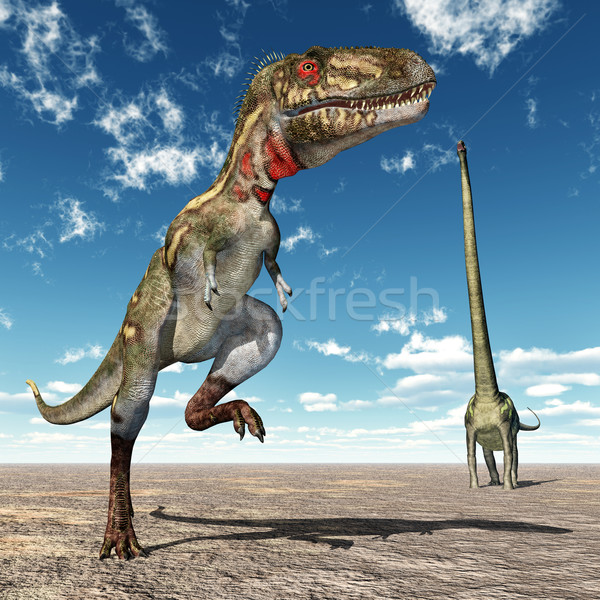 Stock fotó: Számítógép · generált · 3d · illusztráció · dinoszauruszok · természet · állat