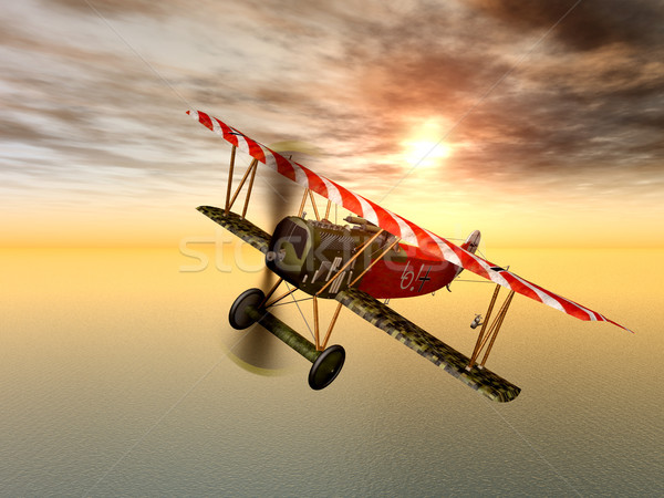 German Fighter Plane Stock photo © MIRO3D