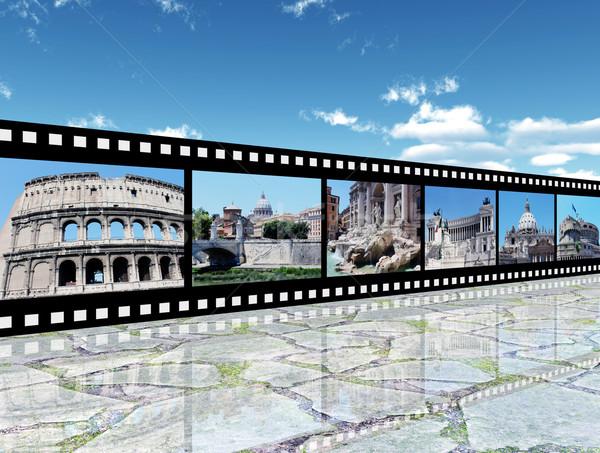 Rome Impressions Stock photo © MIRO3D