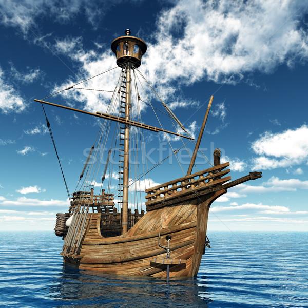 Catalan Ship Stock photo © MIRO3D