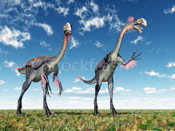 Dinosaur Gigantoraptor Stock photo © MIRO3D