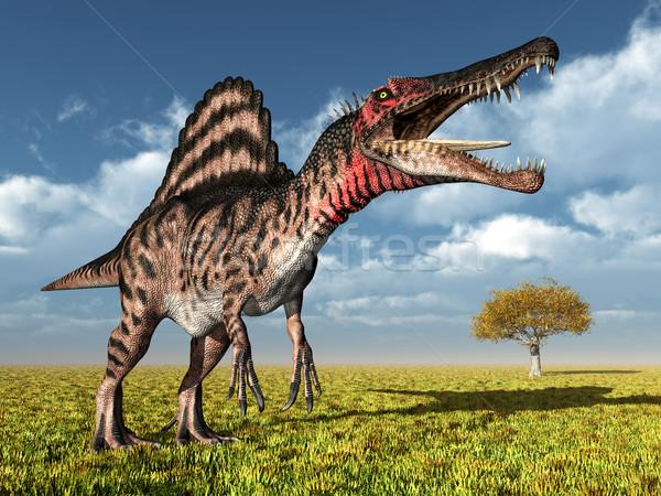 Dinoszaurusz számítógép generált 3d illusztráció természet szörny Stock fotó © MIRO3D