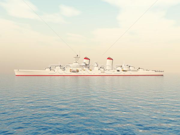 Warship Stock photo © MIRO3D