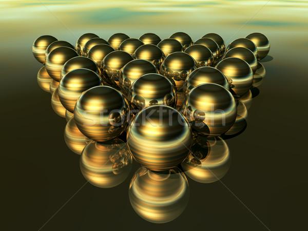 Gyöngyök számítógép generált 3d illusztráció ékszerek mágikus Stock fotó © MIRO3D