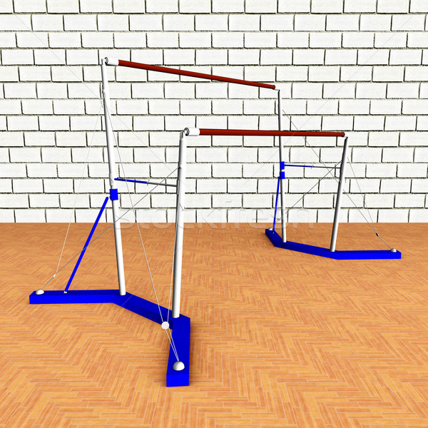 Uneven Bars Stock photo © MIRO3D