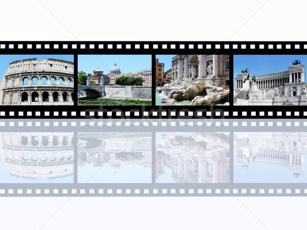 Рим компьютер генерируется иллюстрация Диафильм можете Сток-фото © MIRO3D