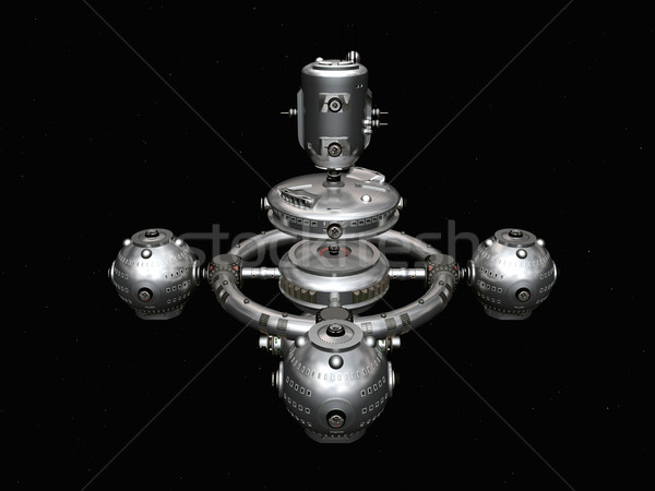 Space Station in Space Stock photo © MIRO3D