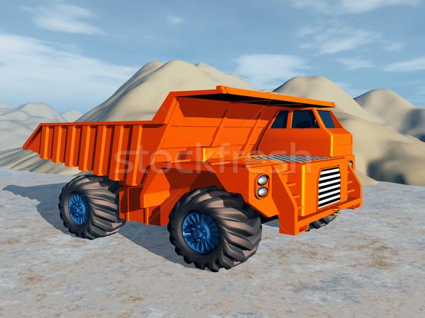 Dump Truck Stock photo © MIRO3D