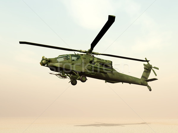 Apache Helicopter Stock photo © MIRO3D