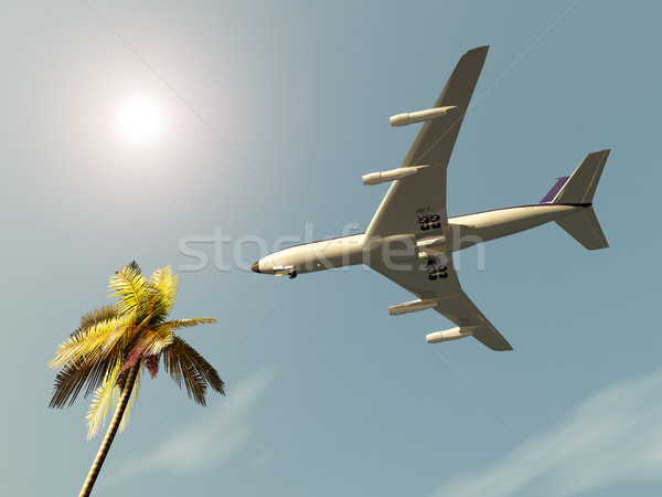 Airliner Stock photo © MIRO3D