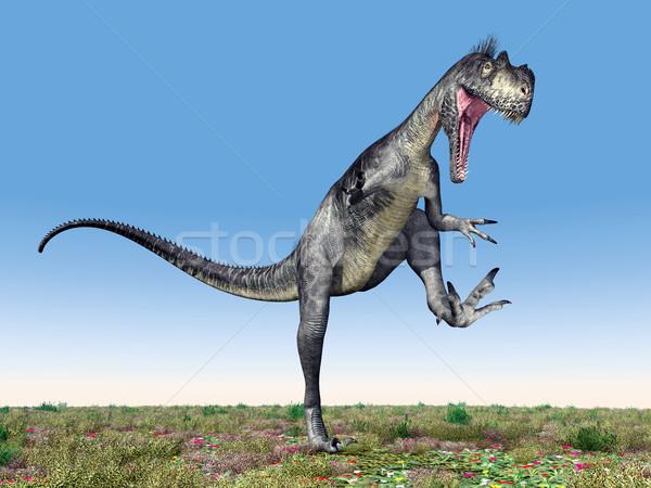 Dinosaur Megalosaurus Stock photo © MIRO3D