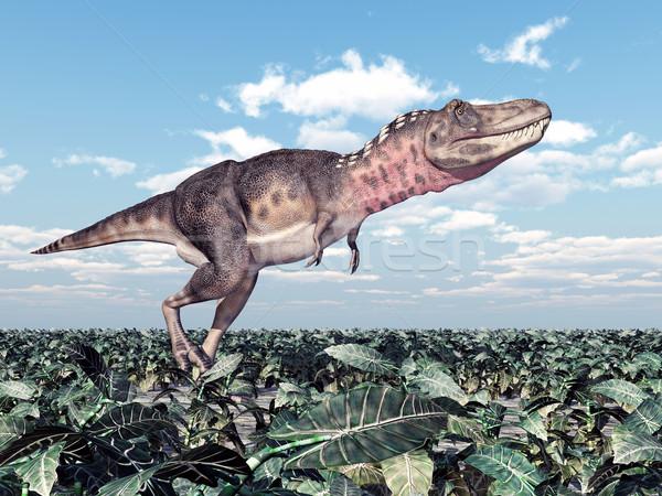 динозавр компьютер генерируется 3d иллюстрации природы науки Сток-фото © MIRO3D