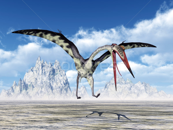 Stock photo: Pterosaur Quetzalcoatlus