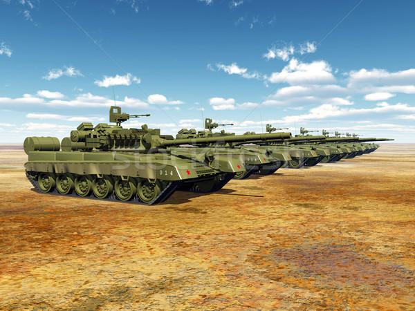 Principale bataille ordinateur généré 3d illustration Photo stock © MIRO3D