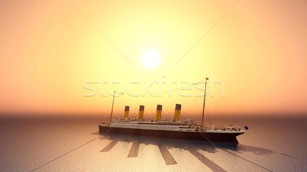 Ocean Liner Stock photo © MIRO3D