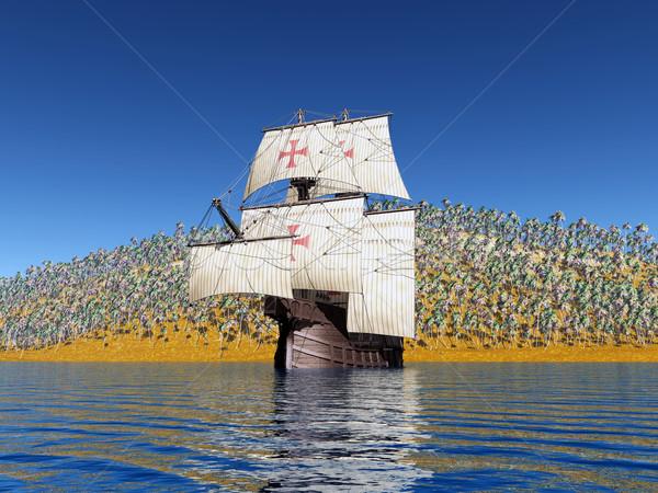 Portuguese Caravel Stock photo © MIRO3D