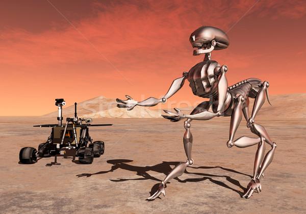 Discovery on Mars Stock photo © MIRO3D