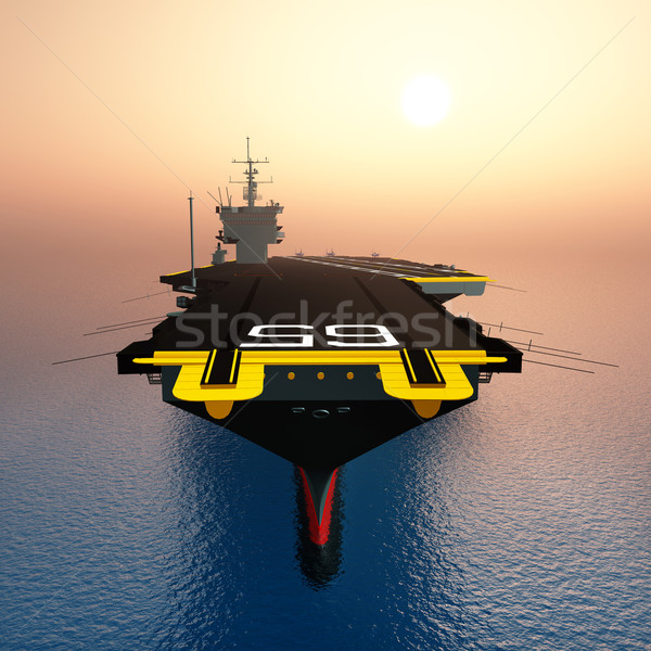 Aircraft Carrier Stock photo © MIRO3D
