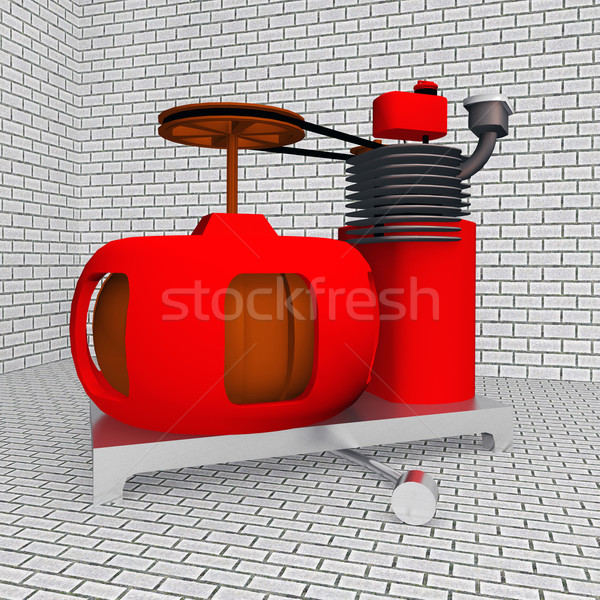 Electric Generator Stock photo © MIRO3D
