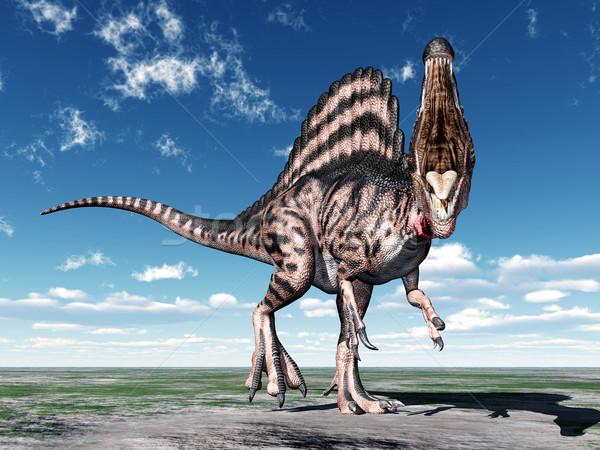 Dinosaur Spinosaurus Stock photo © MIRO3D