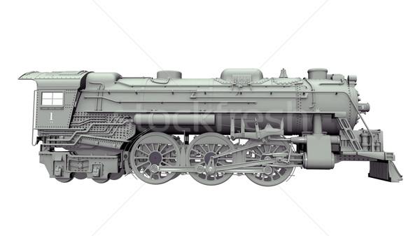 Steam Locomotive Stock photo © MIRO3D