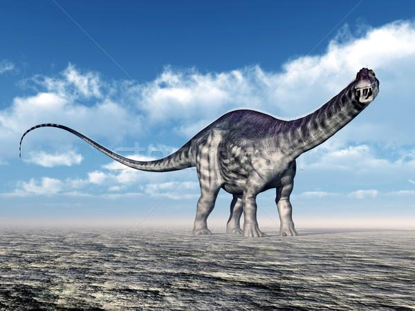 Dinosaur Apatosaurus Stock photo © MIRO3D