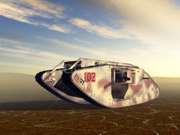 British Heavy Tank Stock photo © MIRO3D