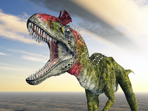 Dinosaur Cryolophosaurus Stock photo © MIRO3D