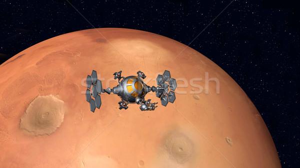 The Flight to Mars Stock photo © MIRO3D