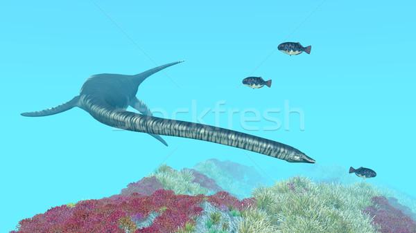 Számítógép generált 3d illusztráció természet tenger óceán Stock fotó © MIRO3D