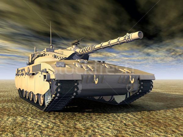 Israeli Main Battle Tank Stock photo © MIRO3D
