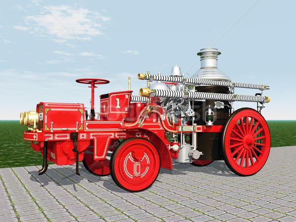Fire Engine Stock photo © MIRO3D