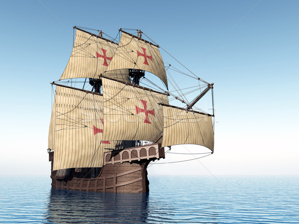 Portuguese Caravel Stock photo © MIRO3D
