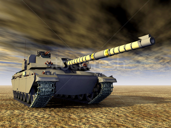 British Main Battle Tank Stock photo © MIRO3D