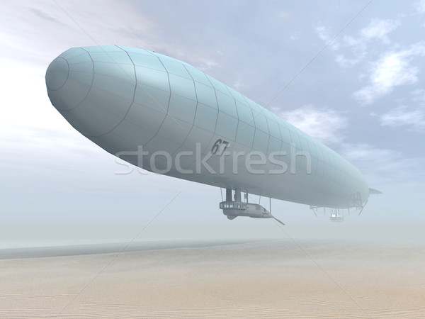 German Airship Stock photo © MIRO3D