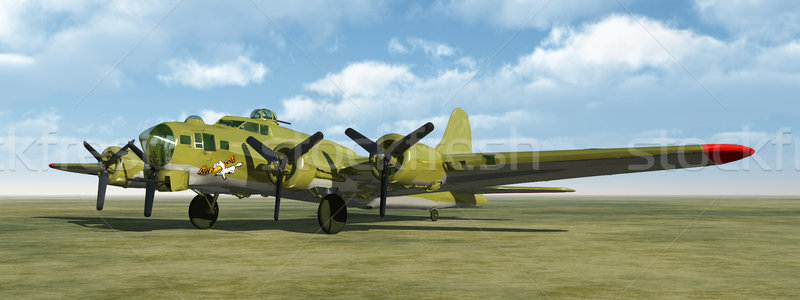 The Flying Fortress of World War II Stock photo © MIRO3D