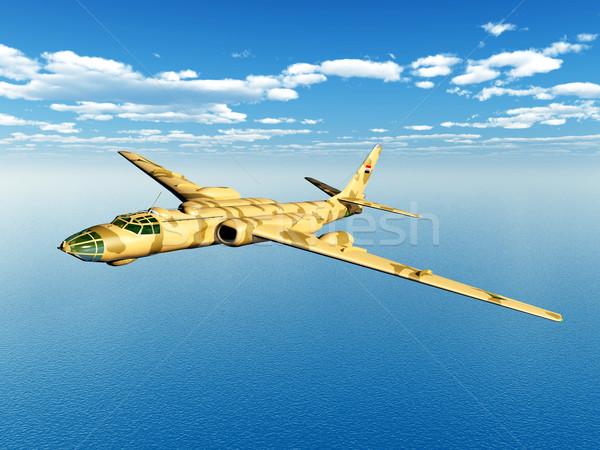 Soviet strategic bomber Stock photo © MIRO3D