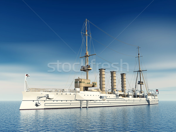 German Light Cruiser Stock photo © MIRO3D