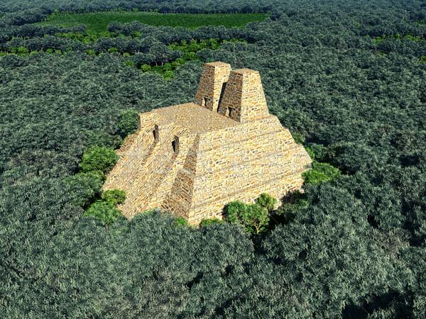 Temple of the Aztecs Stock photo © MIRO3D