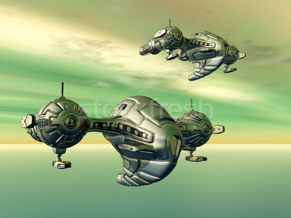 Spaceships Stock photo © MIRO3D