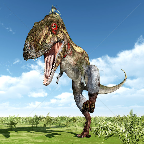 Dinosaures ordinateur généré 3d illustration nature animaux Photo stock © MIRO3D