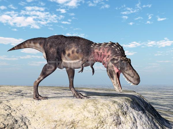 Dinosaur Tarbosaurus Stock photo © MIRO3D