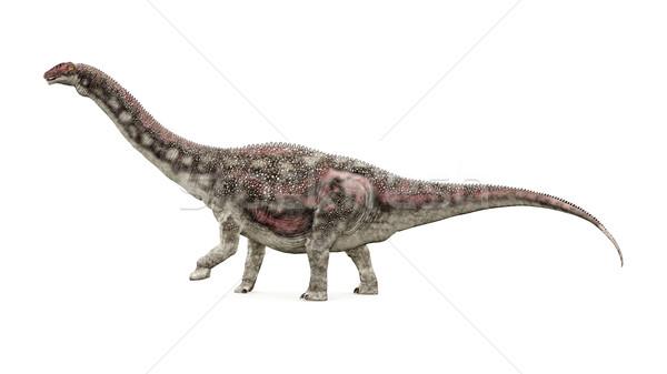 динозавр компьютер генерируется 3d иллюстрации науки монстр Сток-фото © MIRO3D