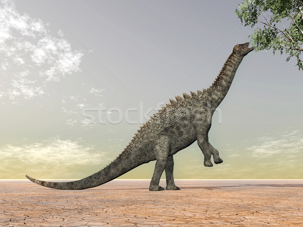 Dinosaur Ampelosaurus Stock photo © MIRO3D