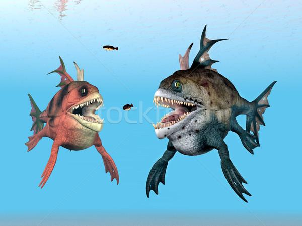 Sea Monsters Stock photo © MIRO3D