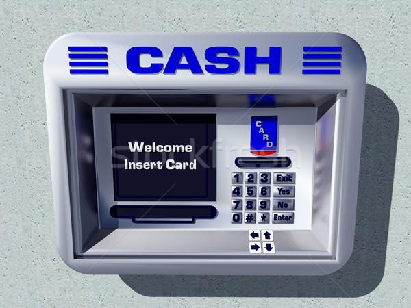 Cash Machine Stock photo © MIRO3D