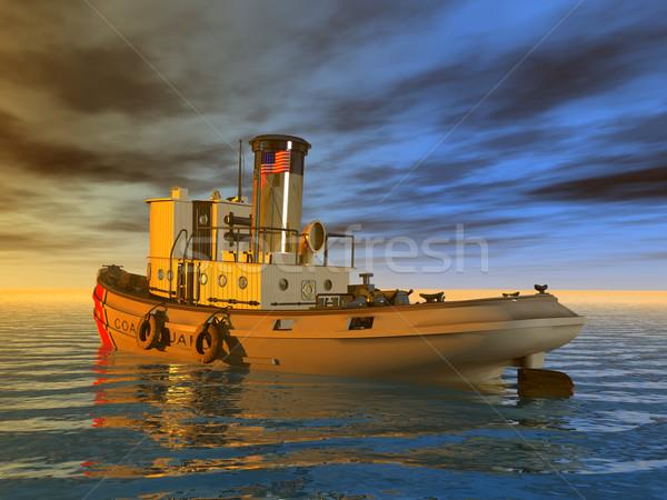 Coast Guard Tug Stock photo © MIRO3D