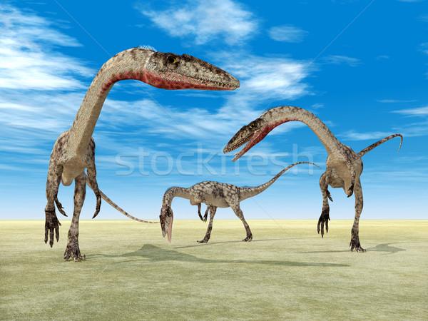 恐竜 コンピュータ 生成された 3次元の図 自然 科学 ストックフォト © MIRO3D