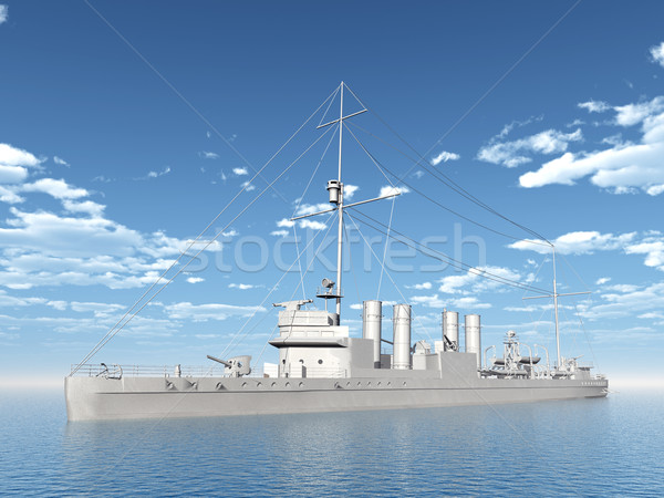 Stock photo: Wickes-Class Destroyer